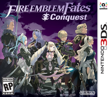 Box art for the game Fire Emblem: Fates: Conquest