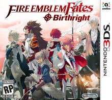 Box art for the game Fire Emblem: Fates: Birthright