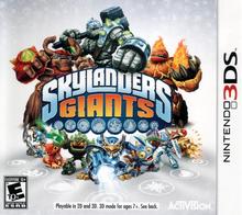 Box art for the game Skylanders: Giants