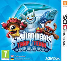 Box art for the game Skylanders: Trap Team