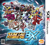 Box art for the game Super Robot Taisen BX
