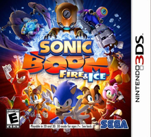 Box art for the game Sonic Boom: Fire & Ice