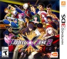 Capa do jogo Project X Zone 2