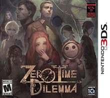 Box art for the game Zero Escape: Zero Time Dilemma