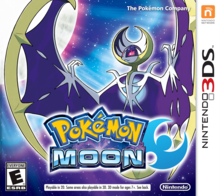 Box art for the game Pokémon Moon