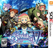 Box art for the game Etrian Oddysey V