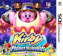 Box art for the game Kirby: Planet Robobot