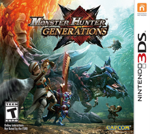 Box art for the game Monster Hunter Generations