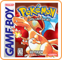 Box art for the game Pokemon Red