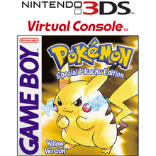Capa do jogo Pokemon Yellow