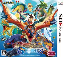 Capa do jogo Monster Hunter Stories