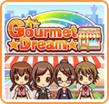 Box art for the game Gourmet Dream