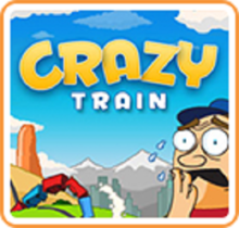 Box art for the game Crazy Train