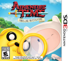 Box art for the game Adventure Time: Finn and Jake Investigations