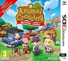 Box art for the game Animal Crossing: New Leaf - Welcome amiibo