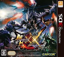 Box art for the game Monster Hunter XX: Double Cross