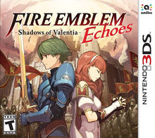 Box art for the game Fire Emblem Echoes: Shadows of Valentia