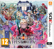 Box art for the game Radiant Historia: Perfect Chronology