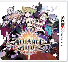 Capa do jogo The Alliance Alive