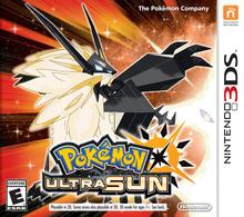 Capa do jogo Pokemon Ultra Sun