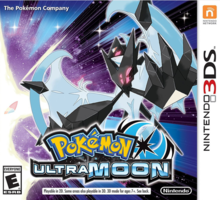 Capa do jogo Pokemon Ultra Moon