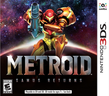 Box art for the game Metroid: Samus Returns