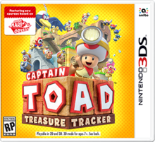 Box art for the game Captain Toad: Treasure Tracker
