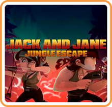 Box art for the game JACK AND JANE JUNGLE ESCAPE