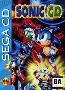 Box art for the game Sonic CD