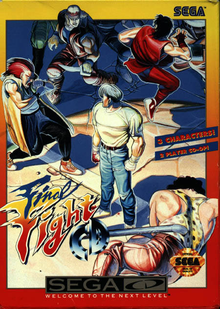 Box art for the game Final Fight CD