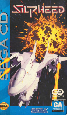 Box art for the game Silpheed