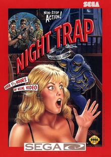 Capa do jogo Night Trap