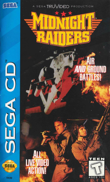 Box art for the game Midnight Raiders