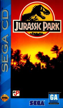 Box art for the game Jurassic Park