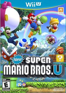 Box art for the game New Super Mario Bros. U