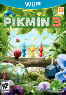 Box art for the game Pikmin 3