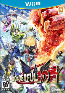 Box art for the game The Wonderful 101