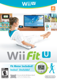 Box art for the game Wii Fit U