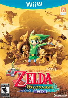 Box art for the game The Legend of Zelda: The Wind Waker HD