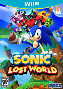 Box art for the game Sonic Lost World
