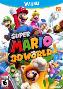 Box art for the game Super Mario 3D World