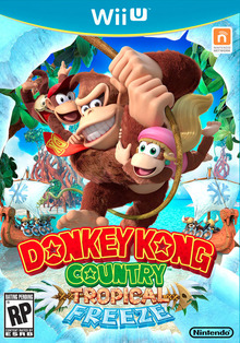 Box art for the game Donkey Kong Country: Tropical Freeze