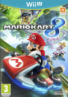 Box art for the game Mario Kart 8