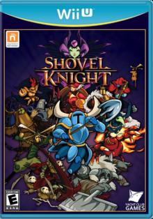 Box art for the game Shovel Knight