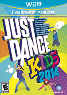 Box art for the game Just Dance Kids 2014