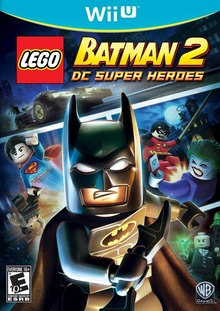Box art for the game LEGO Batman 2 DC Super Heroes