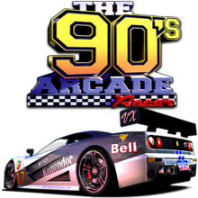 Box art for the game 90's Arcade Racer