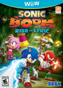 Box art for the game Sonic Boom: Rise of Lyric