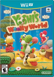 Box art for the game Yoshi's Woolly World