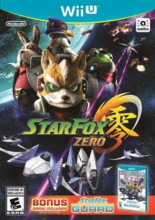 Box art for the game Star Fox Zero
